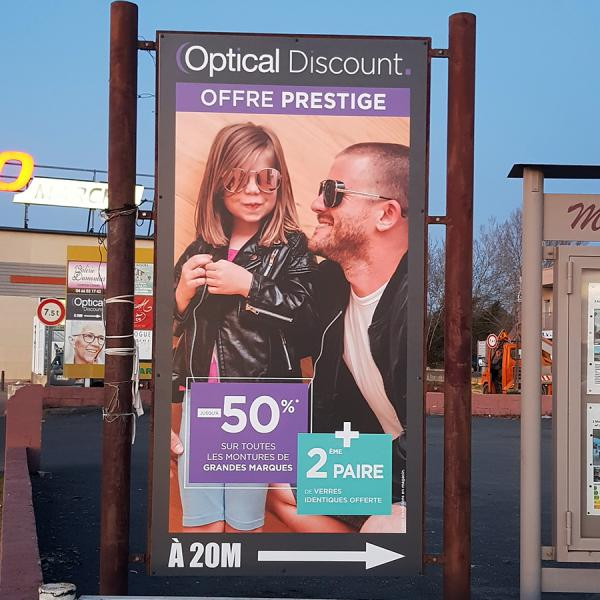 OPTICAL DISCOUNT - Panneau 2
