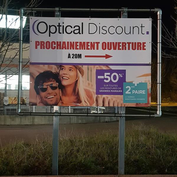 OPTICAL DISCOUNT - Panneau
